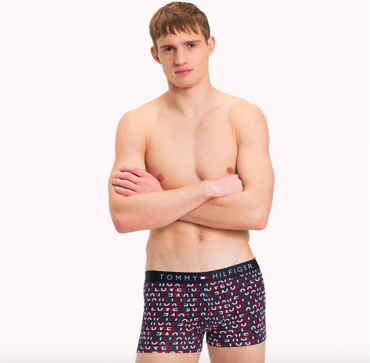 Tommy Hilfiger Boxerky Micro Love Navy