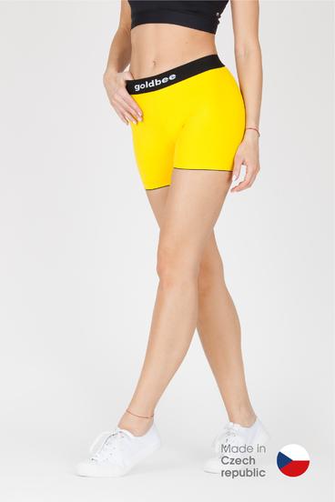 GoldBee kraťásky BeCat Yellow