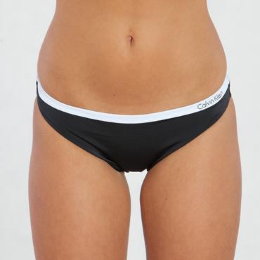 Calvin Klein Plavky Bandeau Černé Spodní Díl