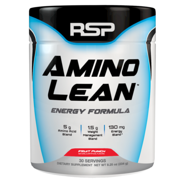 RSP AminoLean Energy Formula -  Fruit Punch