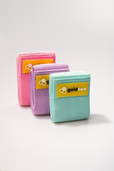GoldBee Textilní Odporová Guma - set A | 3 ks