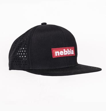 Nebbia Kšiltovka 163 Snap Back Red Label Černá