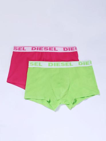 Diesel 2Pack Boxerky Růžové A Zelené