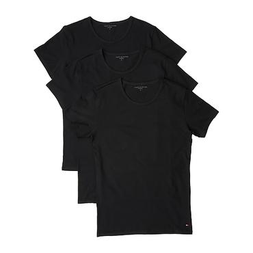 Tommy Hilfiger 3Pack Pánská Trička Černá