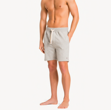 Tommy Hilfiger Kraťase Stretch Cotton Grey