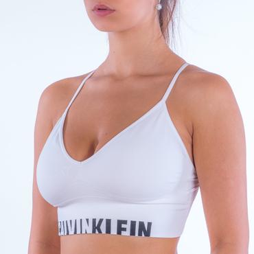 Calvin Klein Podprsenka Longline White
