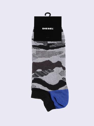 Diesel Ponožky Maskáčové Šedé