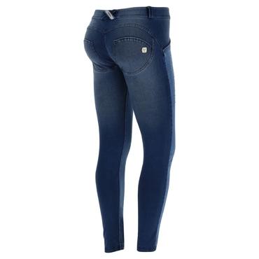 Freddy Jeans Modré Vyšisované Normální Pas SS18