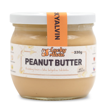 Lucky Alvin Peanut Butter White Choco 330g