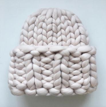 Vlněná Čepice Snow