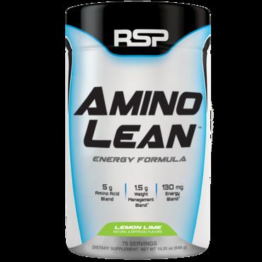 RSP AminoLean Energy Formula - Lemon Lime 70 dávek