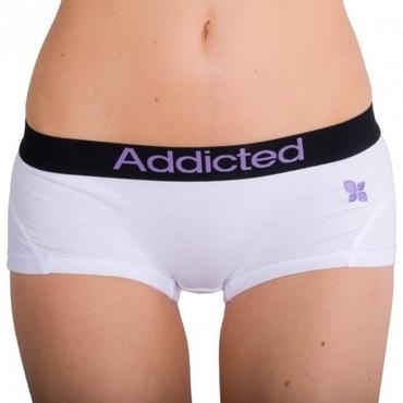 Addicted Kalhotky Bílo-Fialové