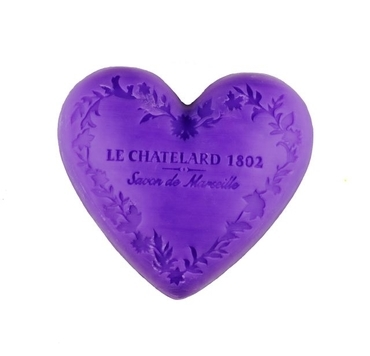 Le Chatelard 1802 Mýdlo Ve Tvaru Srdce Levandule