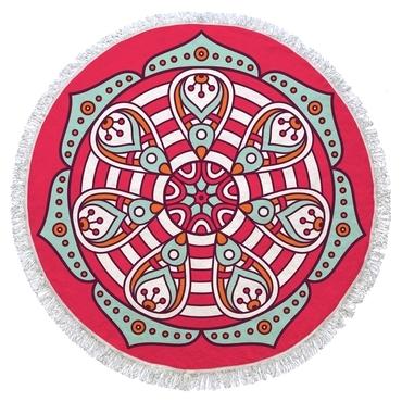 Ručník Red Mandala