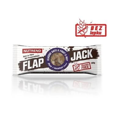 Nutrend Tyčinka Flap Jack Švestka A Lískový Ořech