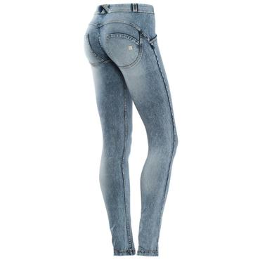 Freddy Jeans Světle Modré Oprané FW17 Normální Pas