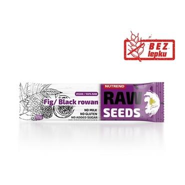 Nutrend Tyčinka Raw Seed Fík&Černý Jeřáb