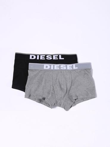Diesel 2Pack Boxerky Černé &Šedé