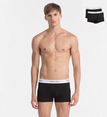 Calvin Klein 2Pack Boxerky Black
