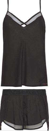 Calvin Klein Dámské Pyžamo Set Černé