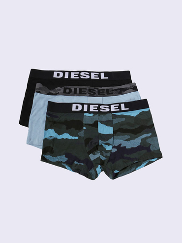 Diesel 3Pack Boxerky Modré