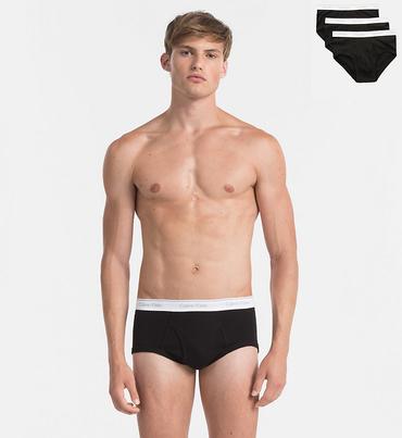 Calvin Klein 3Pack Slipy Black