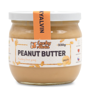 Lucky Alvin Peanut Butter Smooth 330g