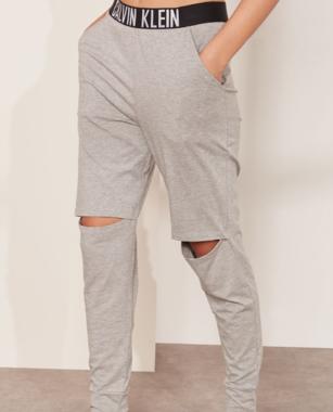 Calvin Klein Tepláky Knee Cut Šedé