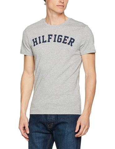 Tommy Hilfiger Pánské Tričko Iconic Grey