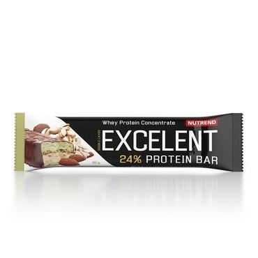 Nutrend Excelent Protein Bar Double Mandle A Pistácie 40g
