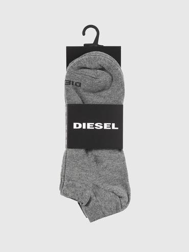 Diesel 3Pack Ponožky Šedé, L