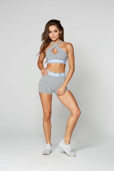 Kraťásky Gym Glamour Grey