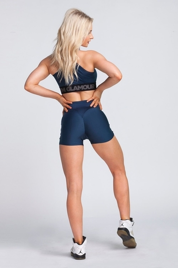 Kraťásky Gym Glamour Midnight Navy