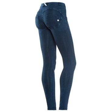 Freddy Jeans Modré S Modrými Švy Normální Pas