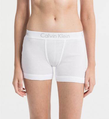 Calvin Klein BoyShort Body Bílé