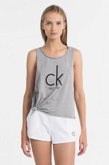 Calvin Klein Tílko NYC Šedé