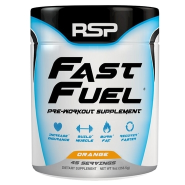 RSP Pre-Workout Fast Fuel - Orange 45 dávek