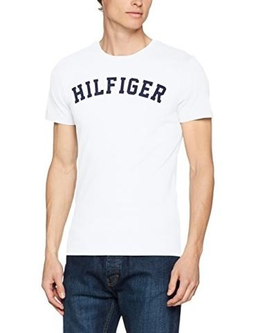 Tommy Hilfiger Pánské Tričko Iconic White