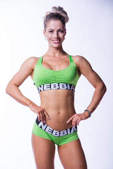 Nebbia Sportovní Podprsenka 223 Zelená
