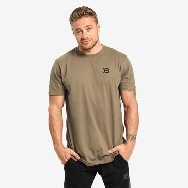 Better Bodies Tričko Stanton Oversize Tee Washed Green