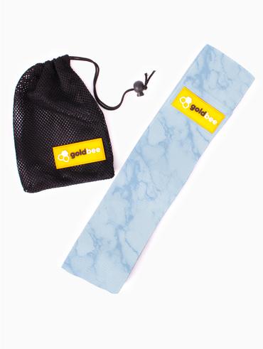 GoldBee Textilní Odporová Guma - Světle Modrá Mramorová
