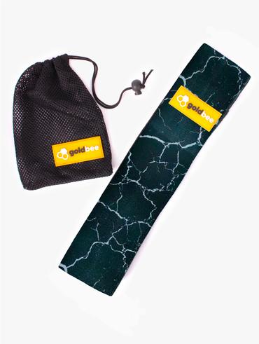 GoldBee Textilní Odporová Guma - Černá Mramorová