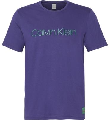 Calvin Klein Tričko Monogram Pánské Fialové
