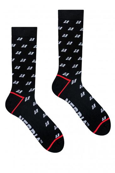 Nebbia Ponožky N-Pattern Vysoké Ponožky