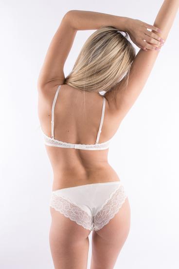 Calvin Klein Kalhotky Flirty Krémové