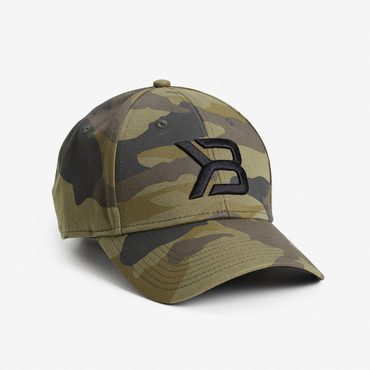 Better Bodies Baseball Cap Green Camo