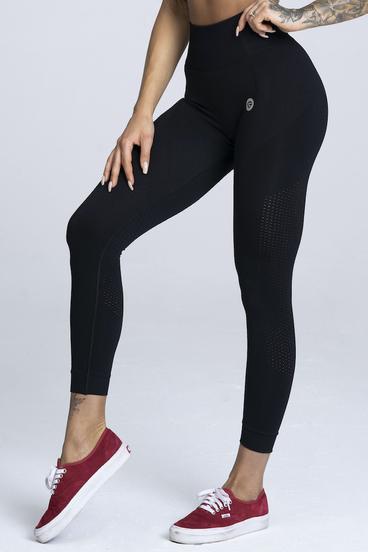 Gym Glamour Legíny Bezešvé Black