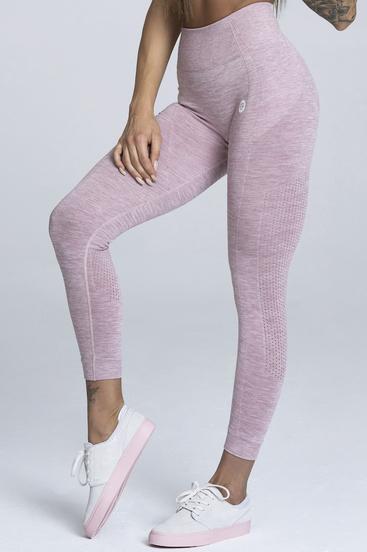 Gym Glamour Legíny Bezešvé Pink Melange