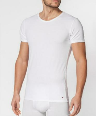 Tommy Hilfiger 3Pack Pánská Trička Bílá