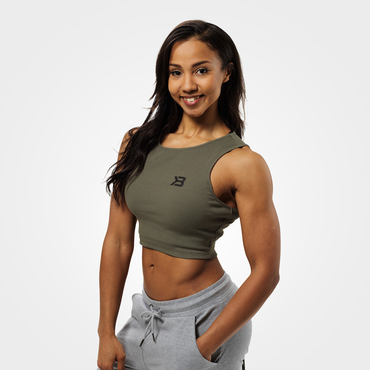 Better Bodies Crop-top Astoria Washed Green